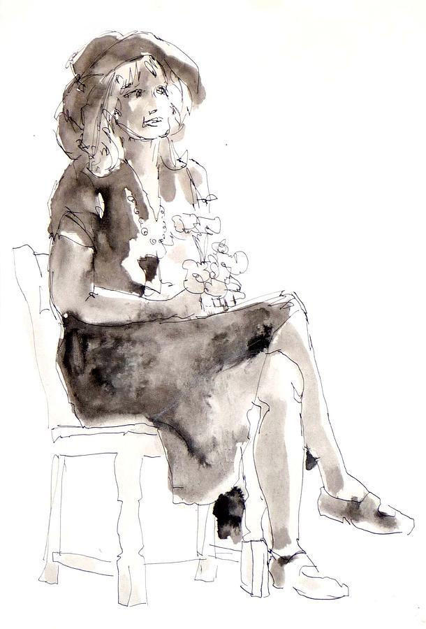 Femmes et Fleurs by Joan  Jones