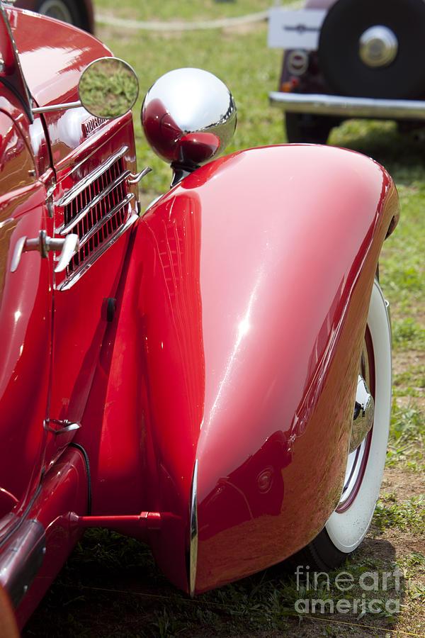 Classic Car Photograph - Fender Line II by Tad Kanazaki