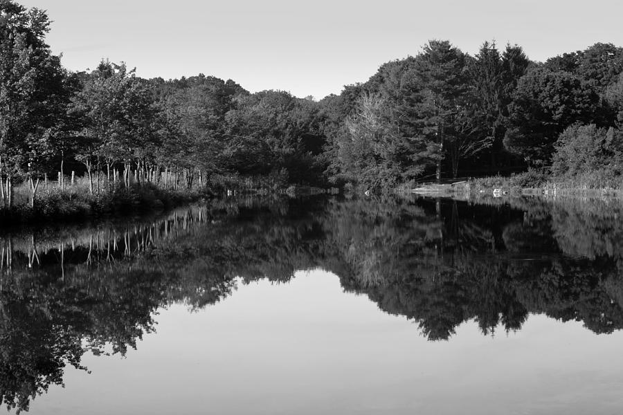 Reflection Photograph - Fenns Pond by Karol Livote