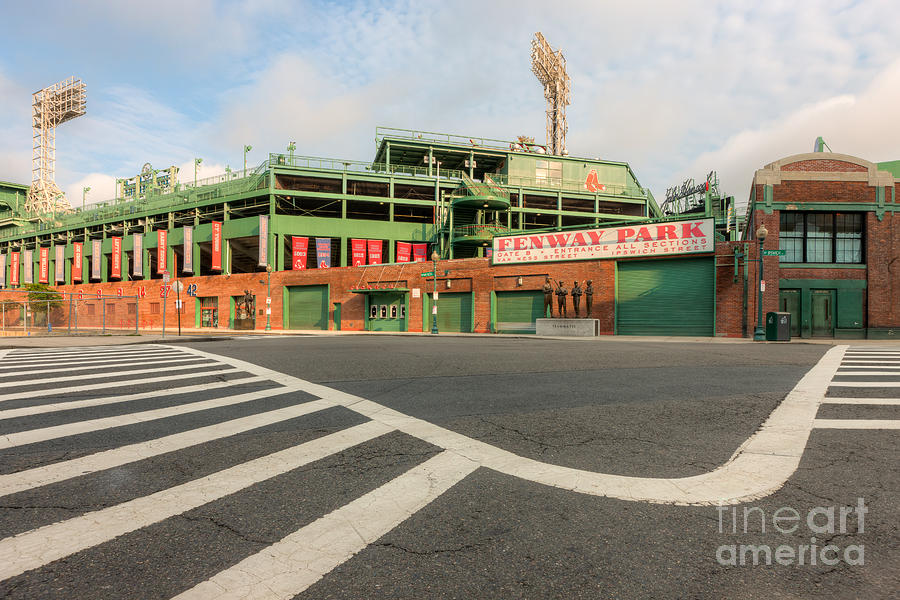 Clarence Holmes Photograph - Fenway Park II by Clarence Holmes