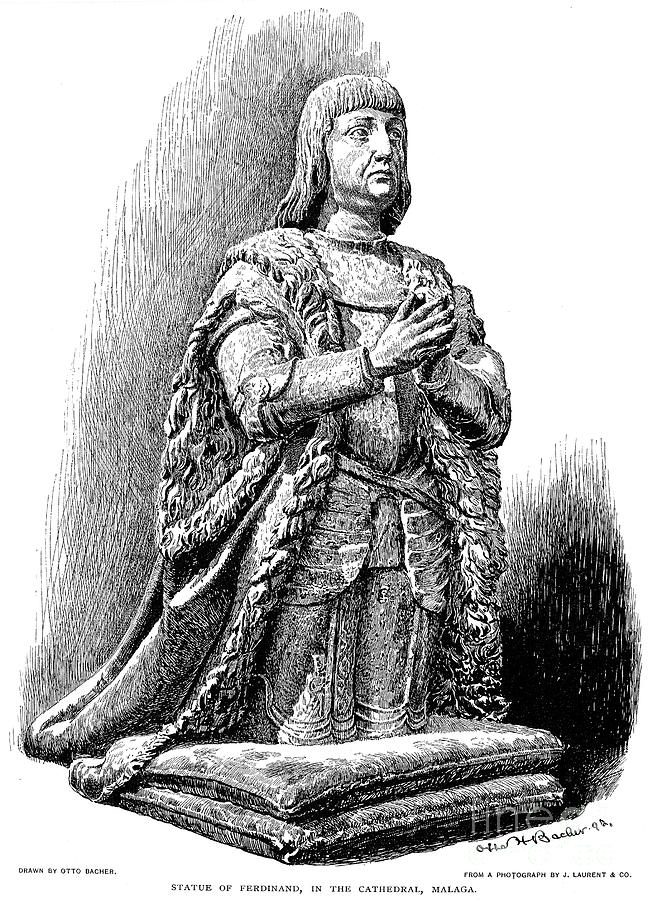 15th Century Photograph - Ferdinand V Of Castile (1452-1516) by Granger