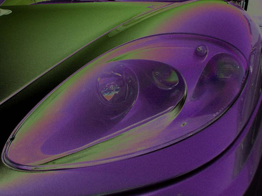 Ferrari Photograph - Ferrari Light by Carolina Liechtenstein