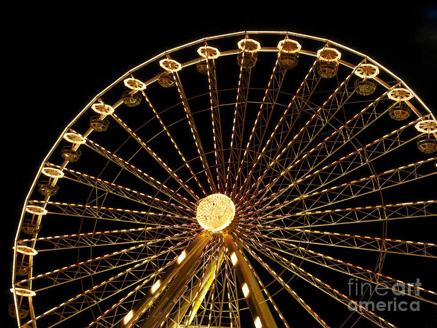 Wheels Photograph - Ferris Wheel by Bernard Jaubert