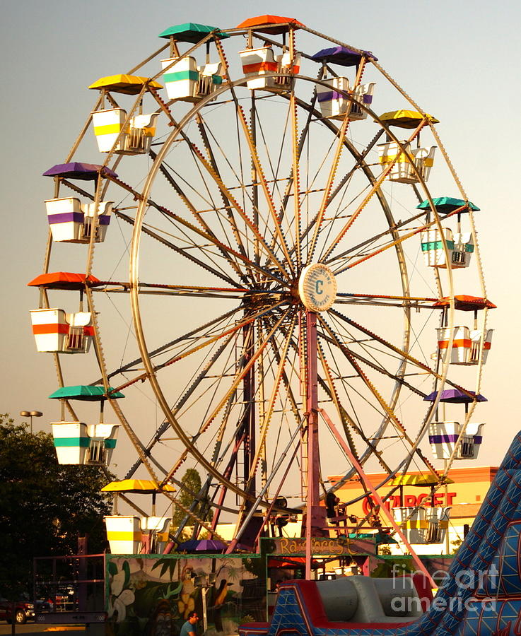 Ferris Wheel Photograph By Images By Topa