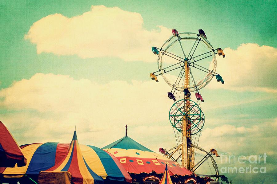 Ferris Wheel Photograph - Ferris Wheel by Kim Fearheiley