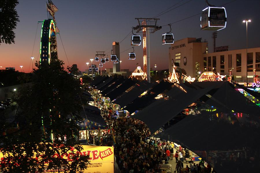 Fun Photograph - Ferris Wheel View by Snow  White