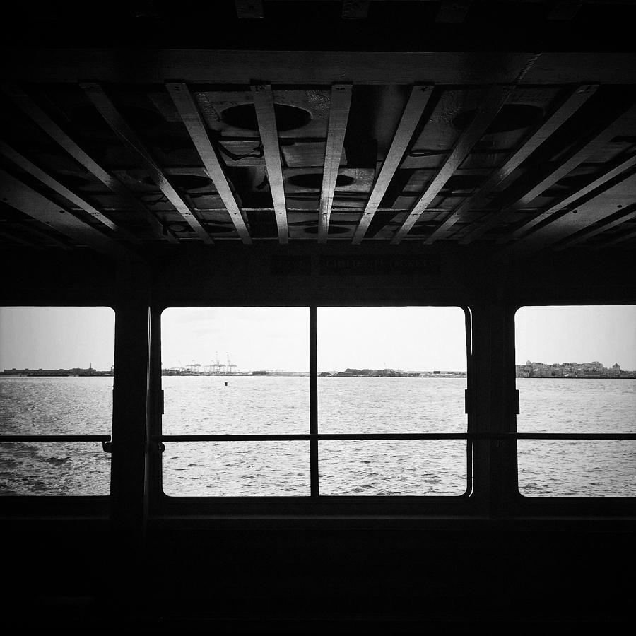 Ferry Photograph - Ferry Window by Eli Maier