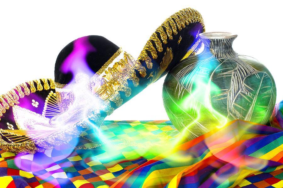 Fiesta Photograph - Festive Fiesta by Trudy Wilkerson