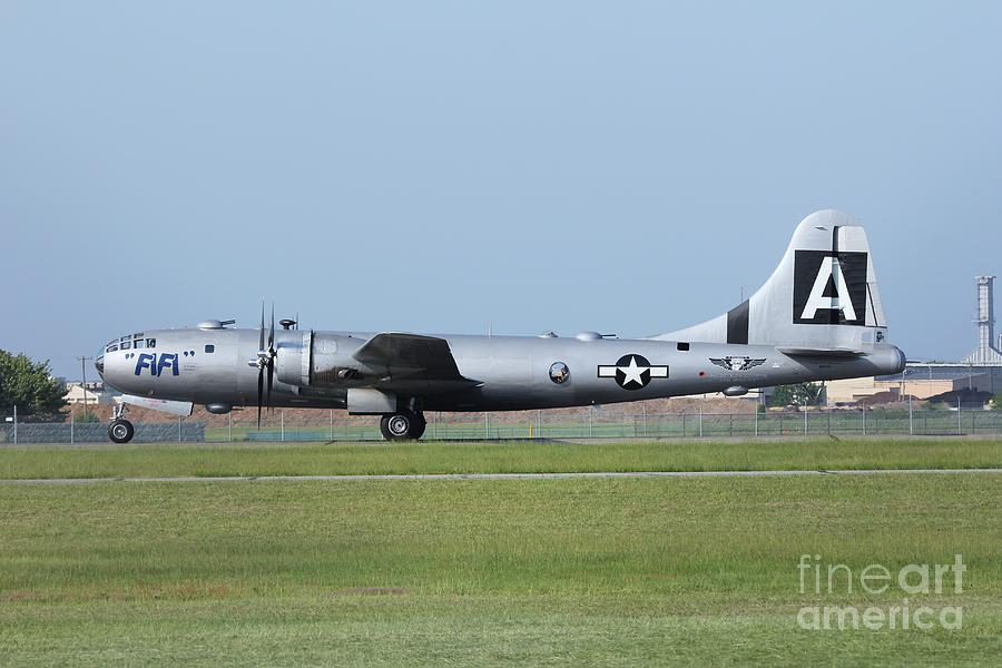 B29 Photograph - Fifi Boeing B29 Superfortress by Scenesational Photos