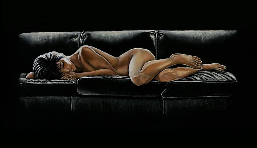 50 Shades Painting - Fifty Shades by Vanda Luddy