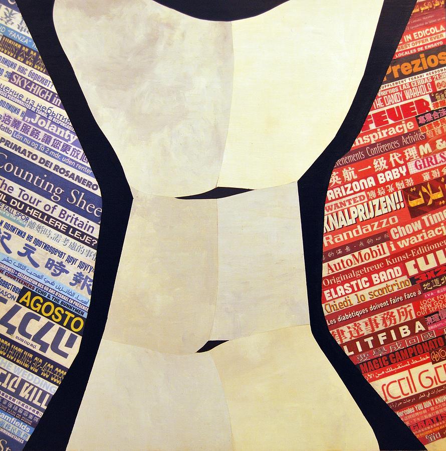 Human Figure Painting - Figura 3 by Manuel Buendia