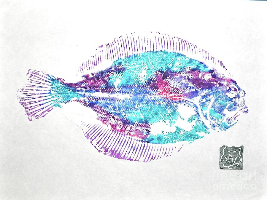 Fish Painting - Filet Of Color by Norma Gafford