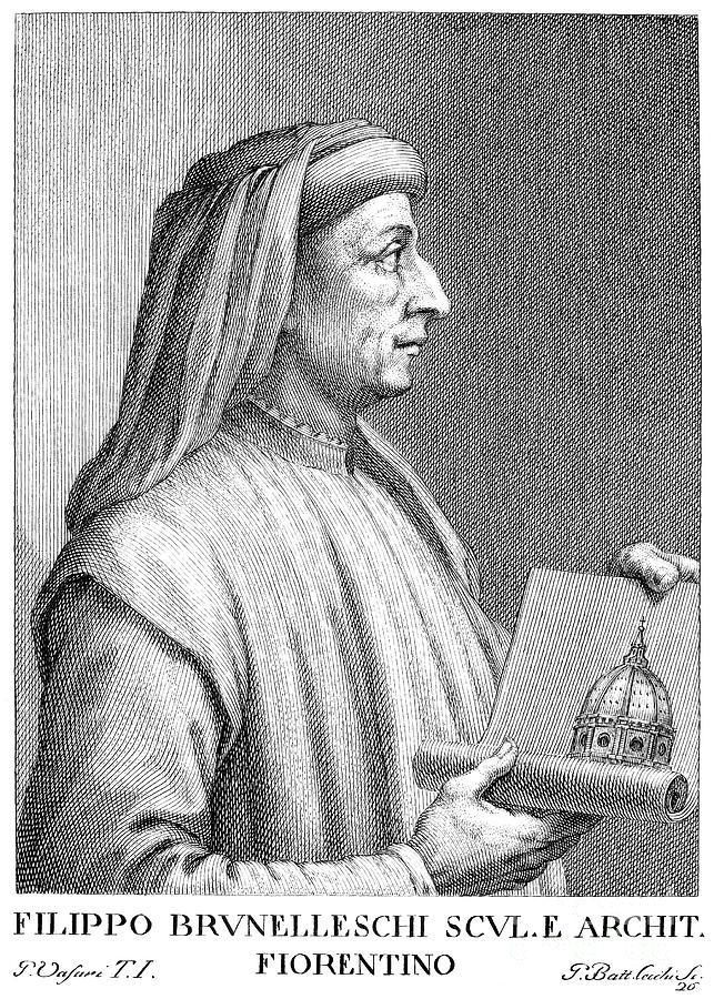 Filippo Brunelleschi Photograph by Granger