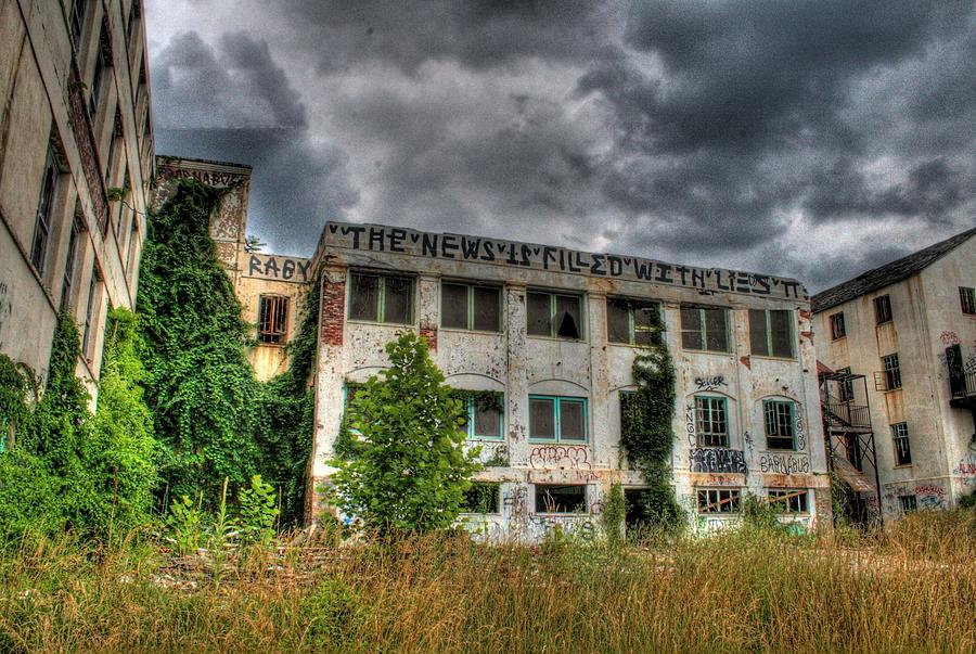 Sanatorium Photograph - Filled With Lies by Heather  Boyd