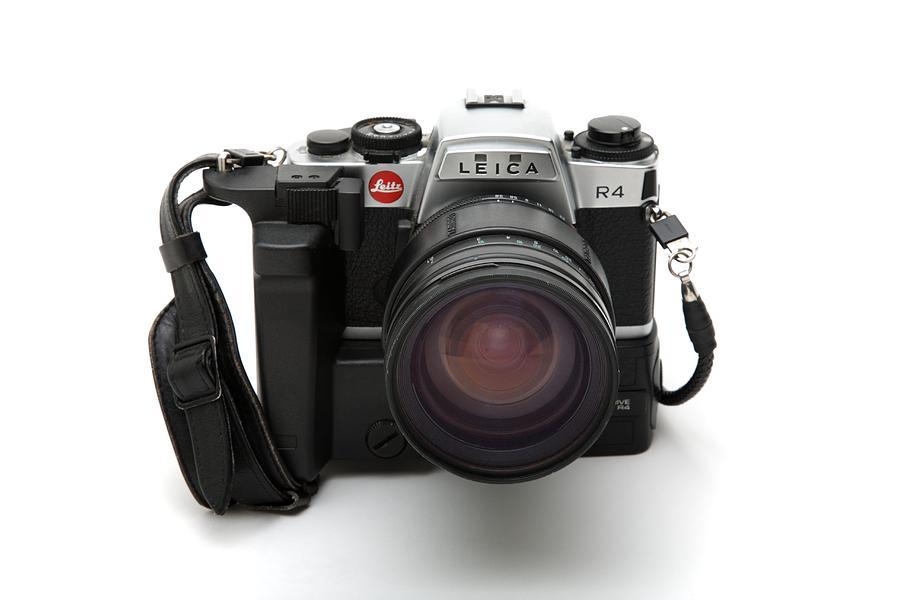 Camera Photograph - Film Camera by Victor De Schwanberg