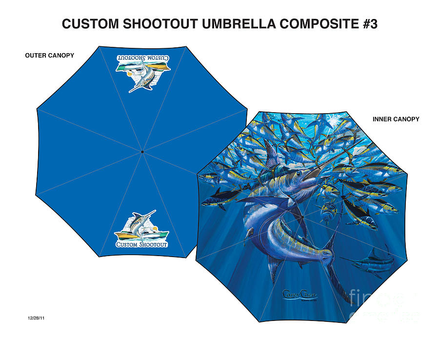 Umbrella Digital Art - Fine Art Umbrellas by Carey Chen