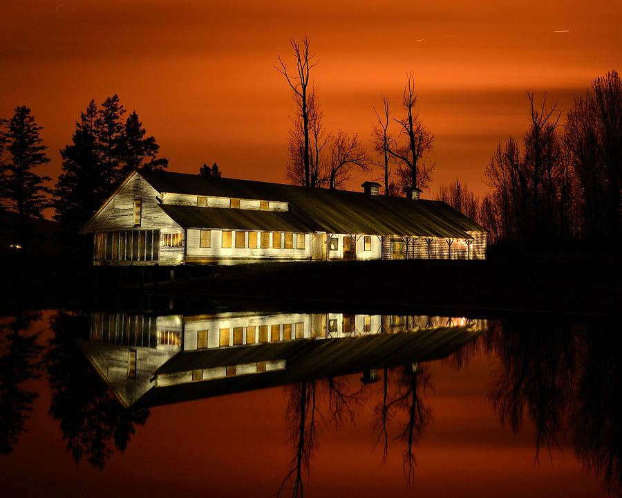 Fintry Provincial Park Photograph - Fintry Packing House by Phil Dionne