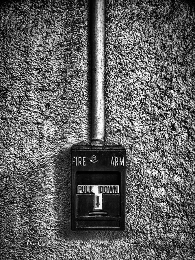 Abstract Photograph - Fire Arm Pull Down by Bob Orsillo