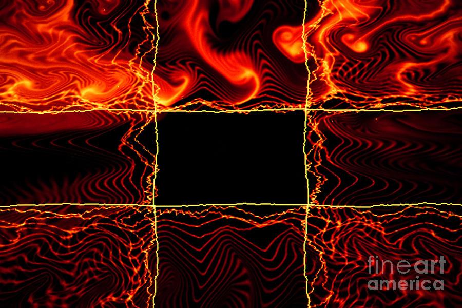 Abstract Photograph - Fire Box by Tashia Peterman