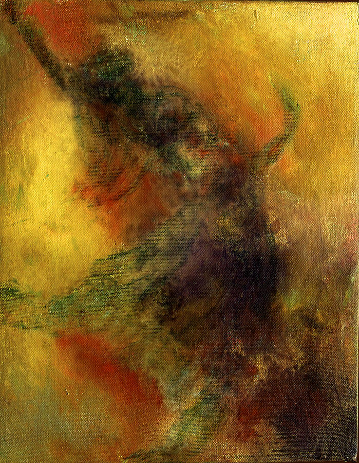 Abstract Painting - Fire Dance by David DeHetre