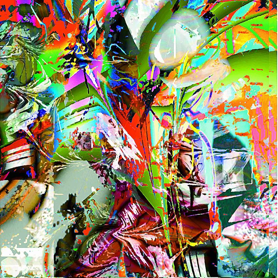 Digital Art - Fire by Dave Kwinter