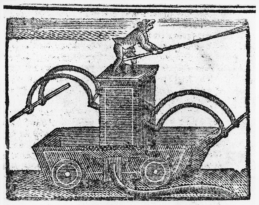 1769 Photograph - Fire Engine, 1769 by Granger