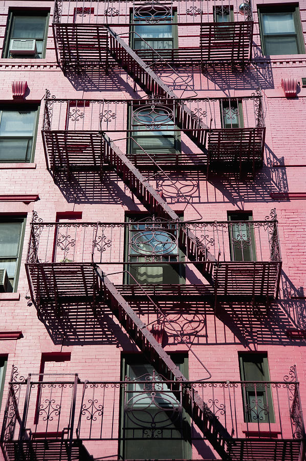 City Photograph - Fire Escape by Axiom Photographic