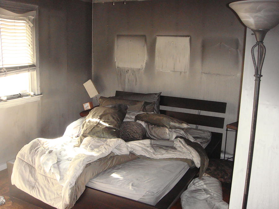 Fire In The Bed Photograph by Matthew Slowik