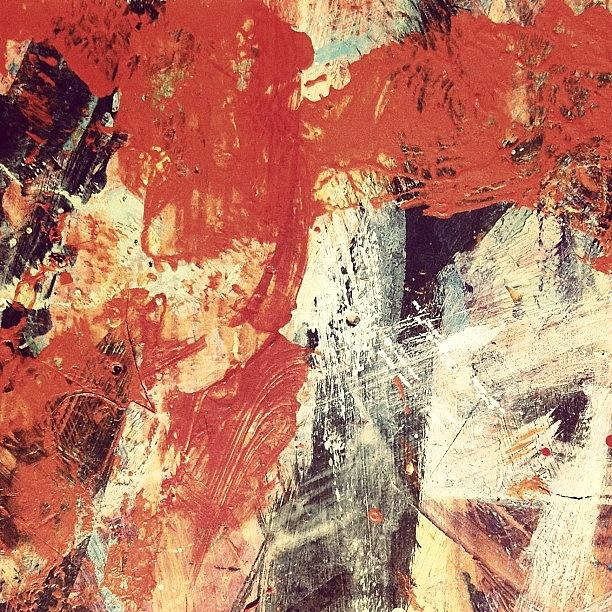 Abstract Photograph - Fire In The Night by Nic Squirrell