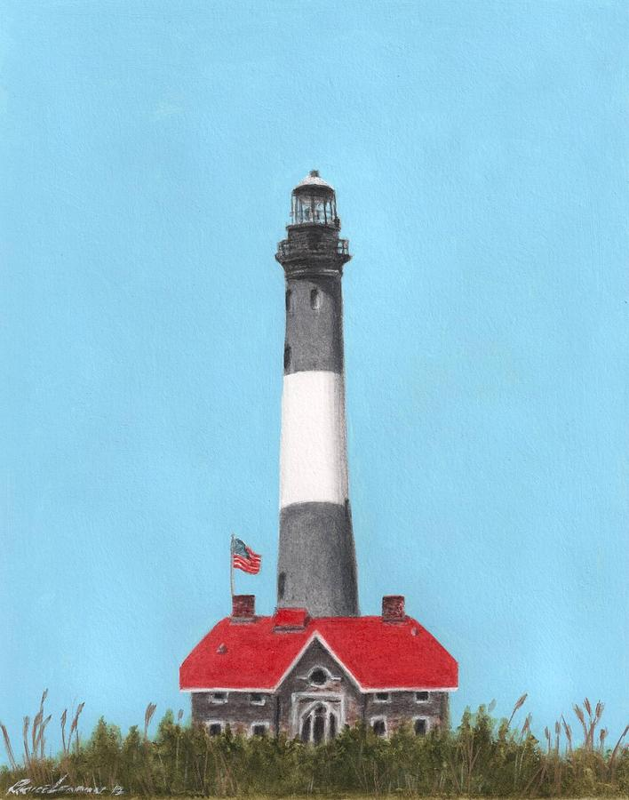 Fire Island Lighthouse Painting By Bruce Lennon