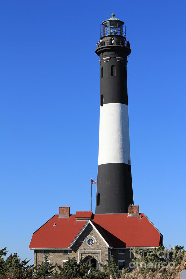Fire Island Lighthouse Photograph - Fire Island Lighthouse by Scenesational Photos