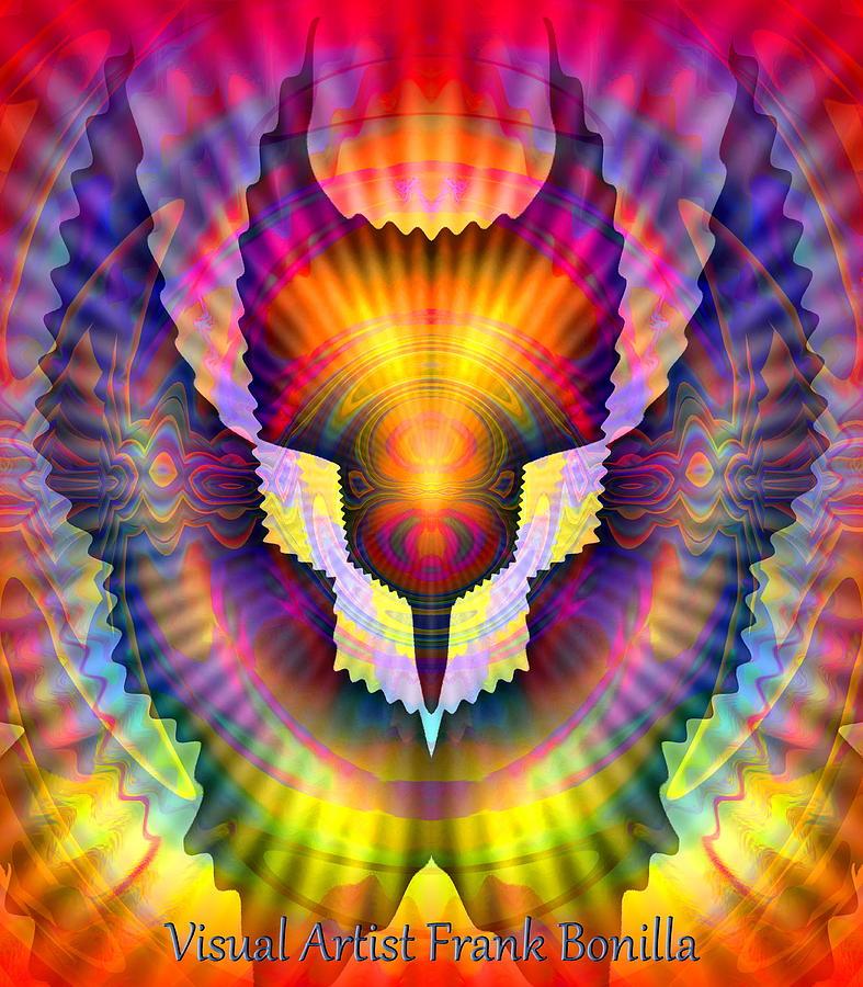 Bird Digital Art - Firebird by Visual Artist  Frank Bonilla