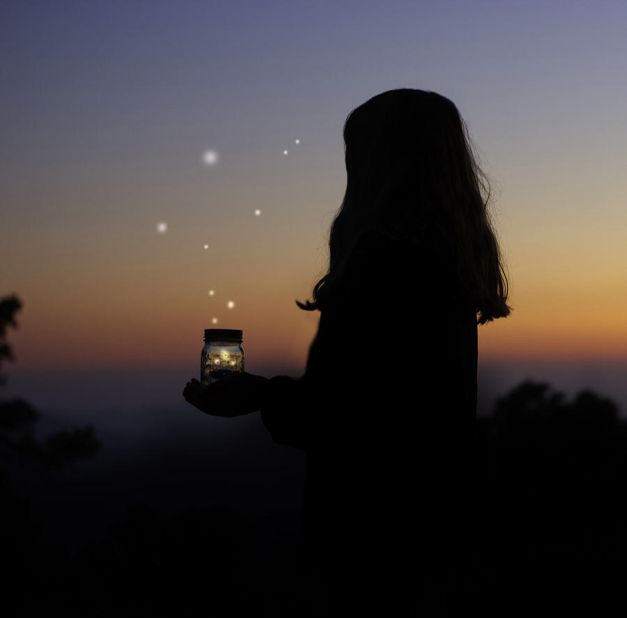 Dreams Photograph - Fireflies by Skye Zambrana