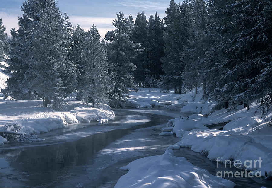 Yellowstone National Park Photograph - Firehole River In Yellowstone by Sandra Bronstein