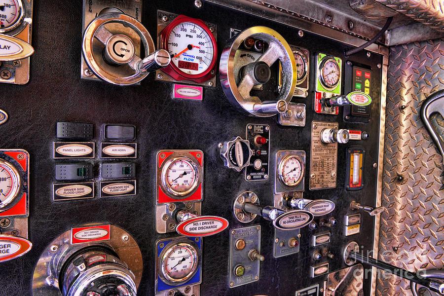 Fireman Photograph - Fireman - Discharge Panel by Paul Ward