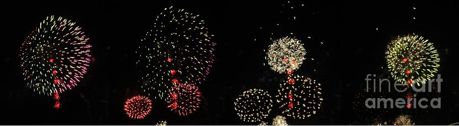 Firework Photograph - Firework Lifecycle 3 by Meandering Photography