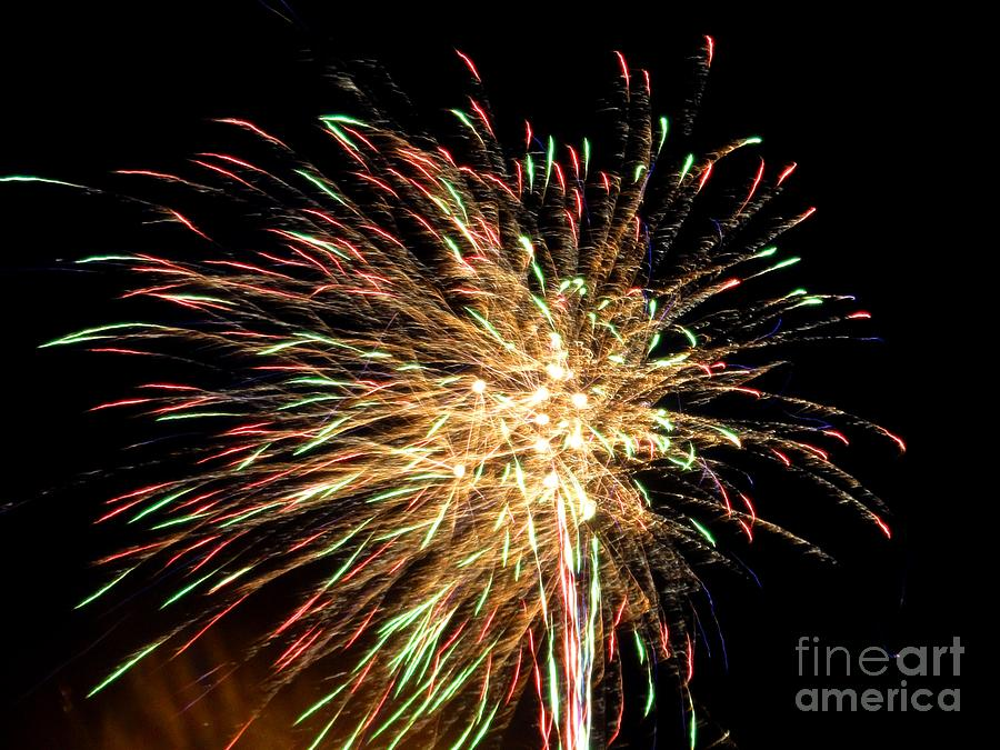 Firework Photograph - Firework by Meandering Photography
