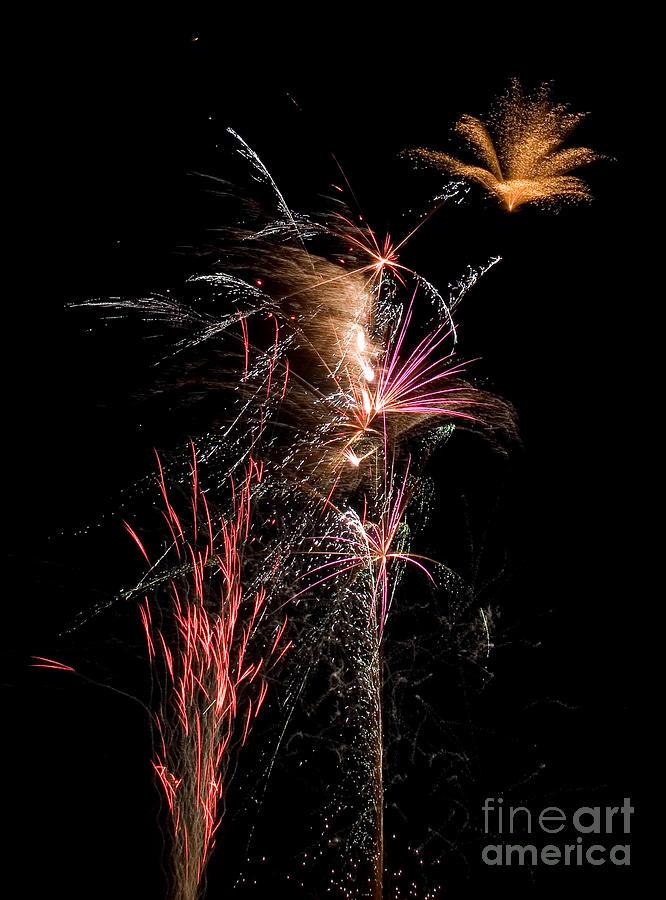 Fireworks Photograph - Fireworks by Cindy Singleton