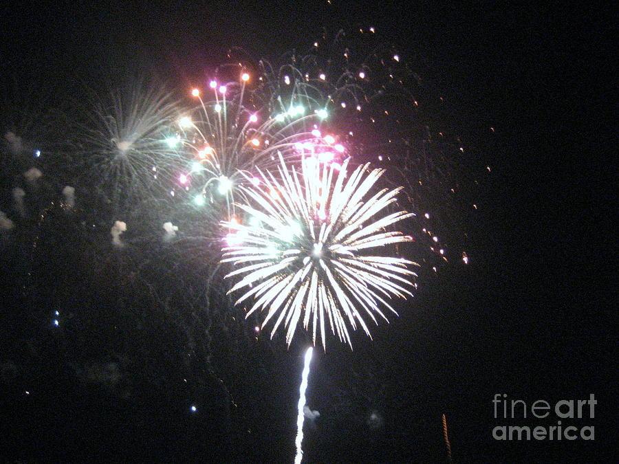 Fireworks Photograph - Fireworks by Dyana Rzentkowski