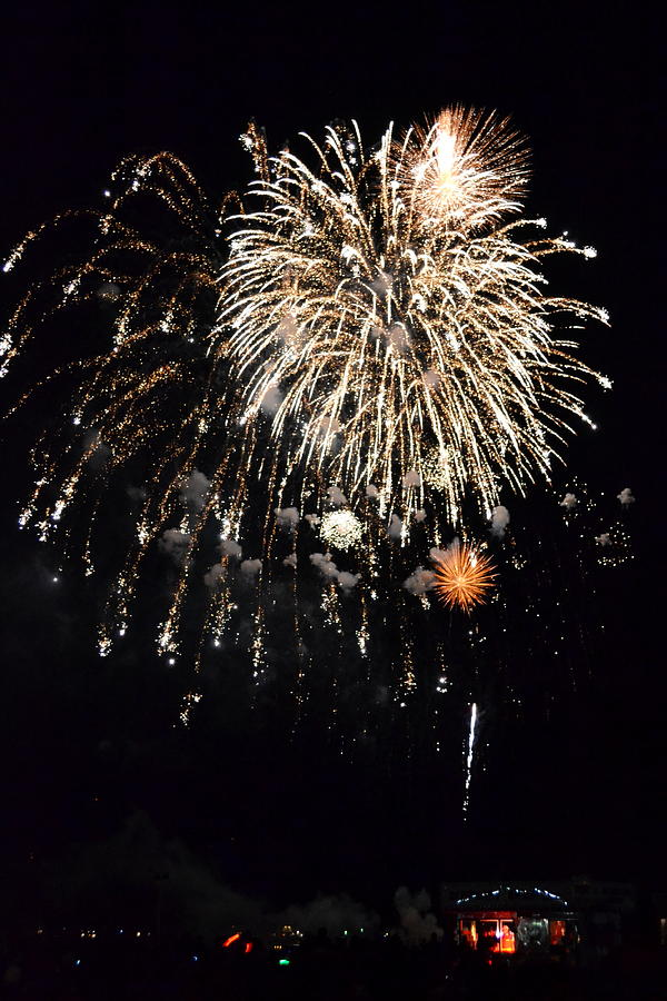 New Photograph - Fireworks by Michelle Calkins