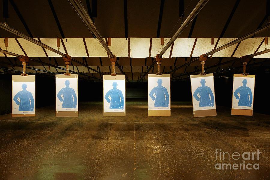 Academy Photograph - Firing Range by Skip Nall