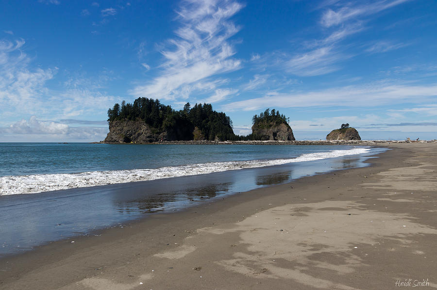 Ocean Photograph - First Beach by Heidi Smith