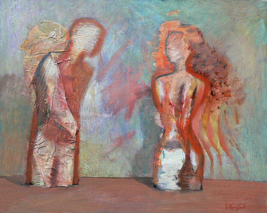 First Impression Painting by Karen Aghamyan