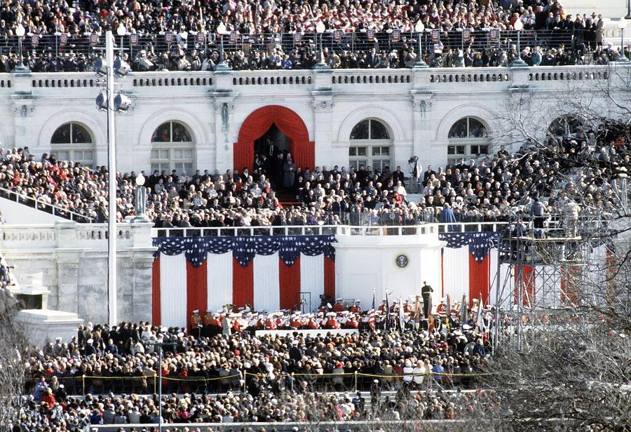 History Photograph - First Inauguration Of Bill Clinton by Everett