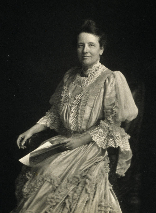 20th Century Photograph - First Lady Edith Kermit Roosevelt, Wife by Everett