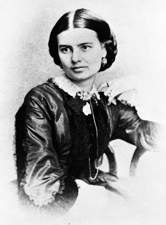 19th Century Photograph - First Lady Ellen Herndon Arthur, Wife by Everett