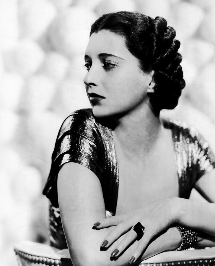 1930s Movies Photograph - First Lady, Kay Francis, 1937 by Everett