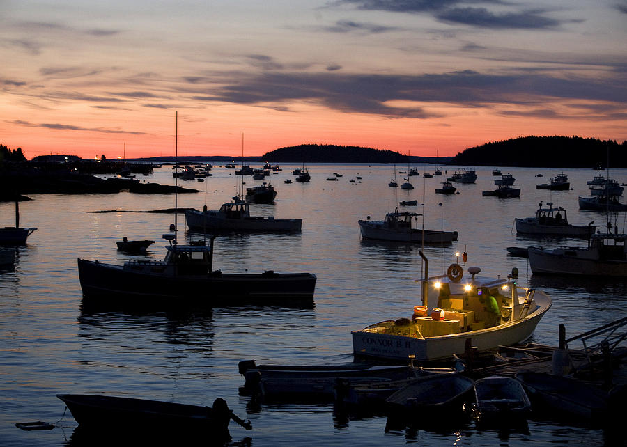 Maine Photograph - First Light by Don Powers