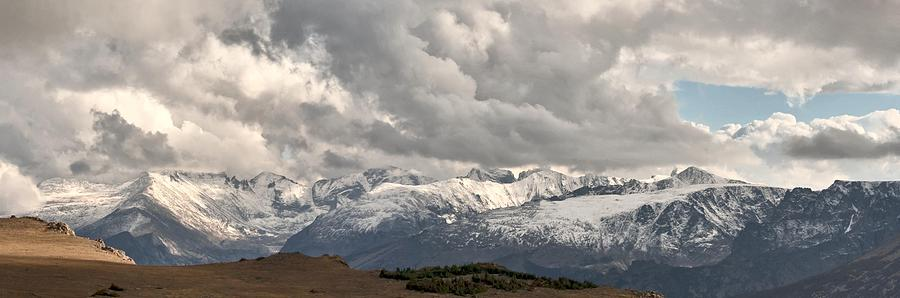First Snow 2012 Rocky Mountains Photograph by Larry Darnell