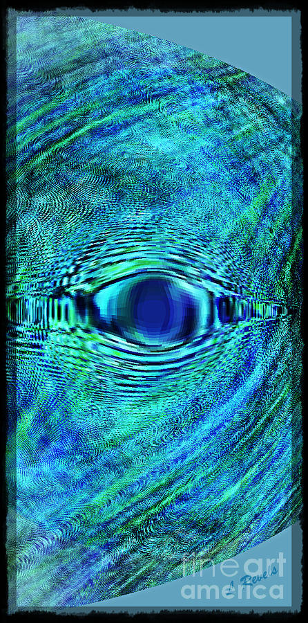 Fish Digital Art - Fish Eye by Leslie Revels Andrews